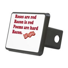 Bacon Poem Hitch Cover