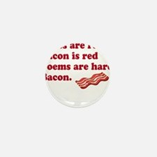Bacon Poem Mini Button (10 pack)