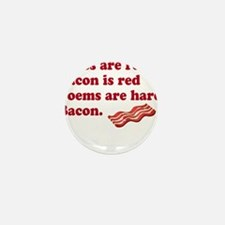Bacon Poem Mini Button