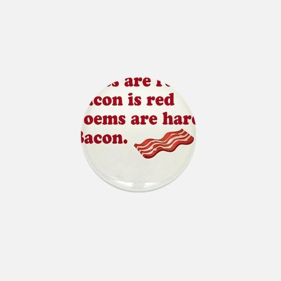 Bacon Poem Mini Button