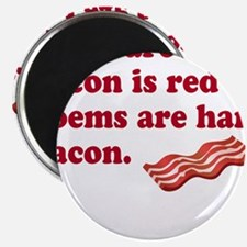 Bacon Poem Magnets