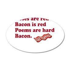 Bacon Poem Wall Sticker