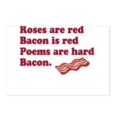 Bacon Poem Postcards (Package of 8)