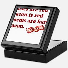 Bacon Poem Keepsake Box
