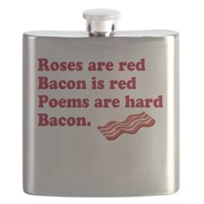 Bacon Poem Flask