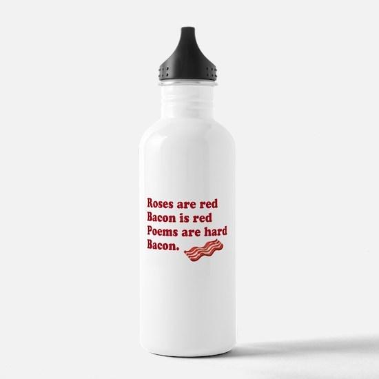 Bacon Poem Sports Water Bottle