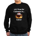 Christmas Cake Sweatshirt (dark)