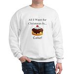 Christmas Cake Sweatshirt