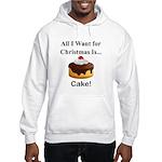 Christmas Cake Hooded Sweatshirt