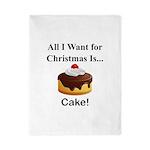 Christmas Cake Twin Duvet