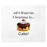 Christmas Cake King Duvet