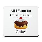 Christmas Cake Mousepad