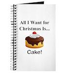 Christmas Cake Journal