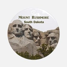 Mount Rushmore Ornament (Round)