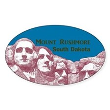Mount Rushmore Decal