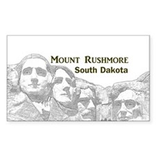 Mount Rushmore Bumper Stickers