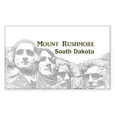 Mount Rushmore Bumper Stickers