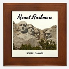 Mount Rushmore Framed Tile