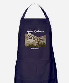 Mount Rushmore Apron (dark)