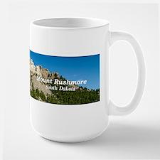 Mount Rushmore Large Mug