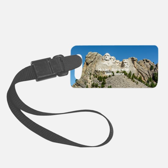 Mount Rushmore Luggage Tag