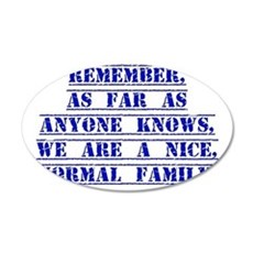 Remember As Far As Anyone Knows Wall Decal