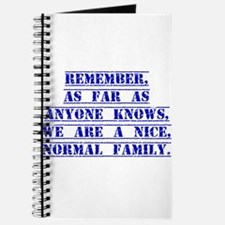 Remember As Far As Anyone Knows Journal