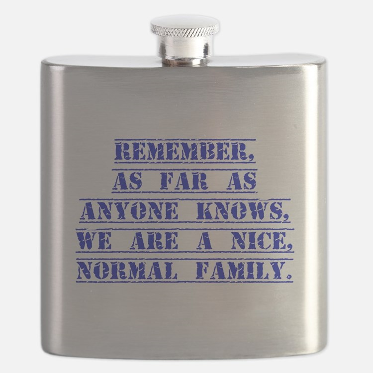 Remember As Far As Anyone Knows Flask