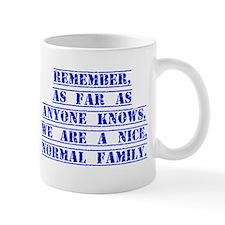 Remember As Far As Anyone Knows Mugs