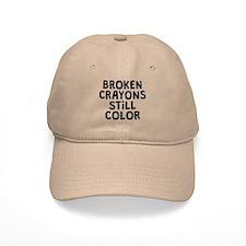 Broken Crayons Baseball Baseball Cap