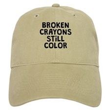 Broken Crayons Baseball Cap