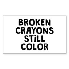 Broken Crayons Decal