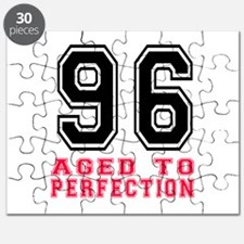 96 Aged To Perfection Birthday Designs Puzzle