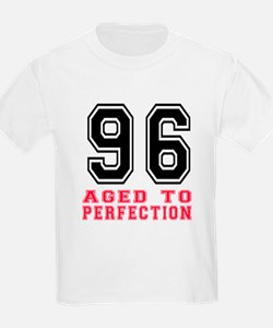96 Aged To Perfection Birthday T-Shirt