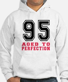 95 Aged To Perfection Birthday D Hoodie