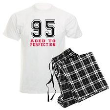 95 Aged To Perfection Birthda Pajamas