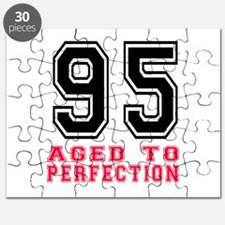 95 Aged To Perfection Birthday Designs Puzzle