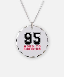 95 Aged To Perfection Birthd Necklace