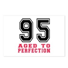 95 Aged To Perfection Bir Postcards (Package of 8)