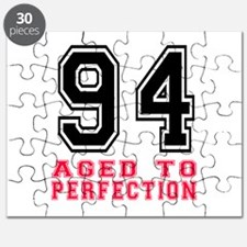 94 Aged To Perfection Birthday Designs Puzzle