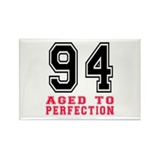 94 Aged To Perfection B Rectangle Magnet (10 pack)