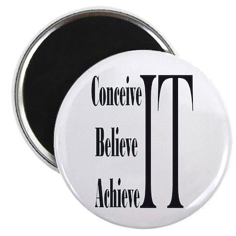 Conceive/Believe/Achieve Magnet
