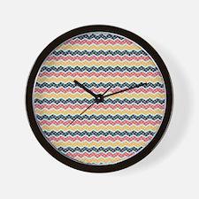 Bohemian Style Pattern Wall Clock