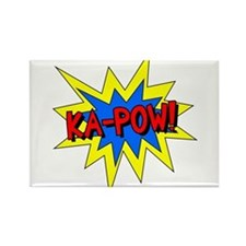 Ka-Pow! Rectangle Magnet