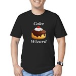 Cake Wizard Men's Fitted T-Shirt (dark)