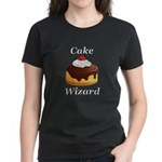 Cake Wizard Women's Dark T-Shirt