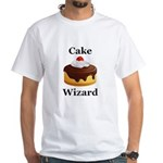 Cake Wizard White T-Shirt