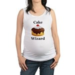 Cake Wizard Maternity Tank Top