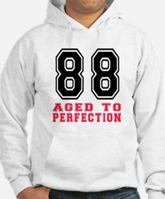 88 Aged To Perfection Birthday D Hoodie