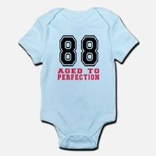 88 Aged To Perfection Birthday Des Infant Bodysuit